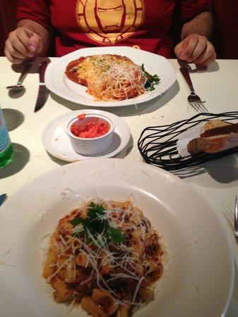 Giovanni Venti Cinque Restaurant: dois pratos principais