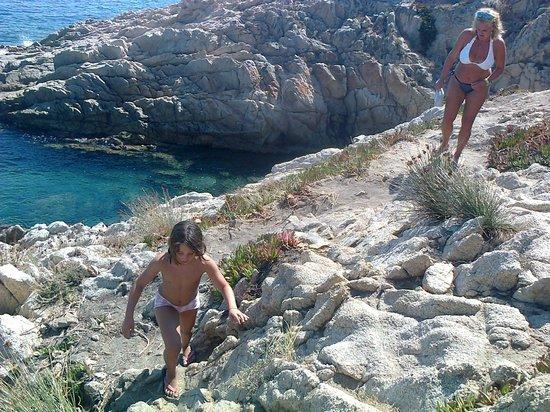 Cap Taillat : sentiero che porta alle spiagge