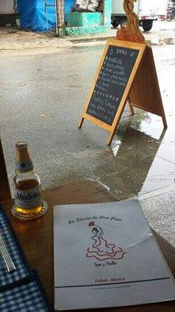 La Gloria de Don Pepe : las glorias son mejores con lluvia...