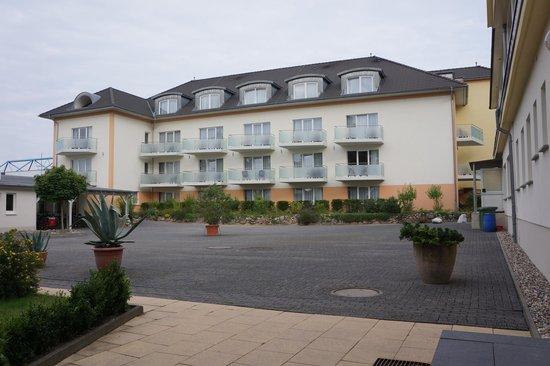 Strandhotel Plau am See: binnenplein