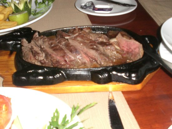Agapinor Restaurant: Chateaubriand
