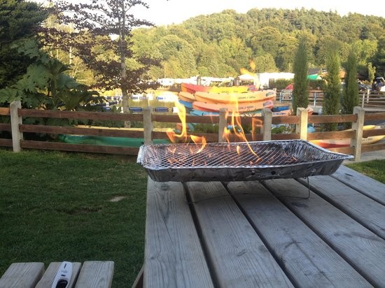 The lake - Picture of Hidden Valley Holiday Park, Rathdrum - Tripadvisor