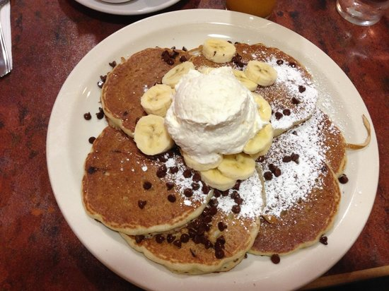 Original Pancake House: Pancake al cioccolato