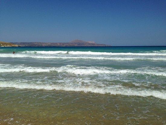 Langley Resort Almirida Bay: Närmaste strand