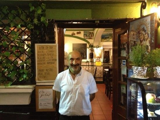 La Casa de la Pasta: A warm welcome will await you as it did us on 4th September 2013