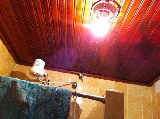 Nevada Jacarei Praia Hotel: Teto do banheiro