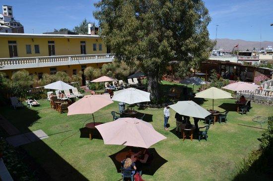 Casa de Avila - For Travellers : Hotelgarten