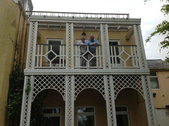 The Orestone Manor: The Victorian balcony