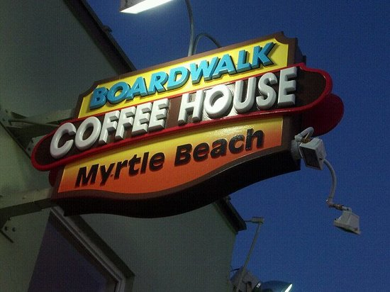 Photo of Cafe Boardwalk Coffee House at 104 9th Ave N, Myrtle Beach, SC 29577, United States