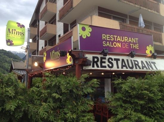 Mim's restaurant : vu de l exterieur