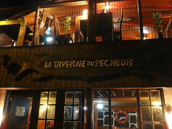 La Taverne du Pecheur: Front of the restaurant
