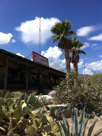 Panamint Springs Resort Restaurant: fachada principal