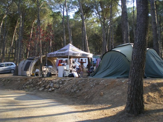 Camping Punta Milà Yelloh! Village: emplacement