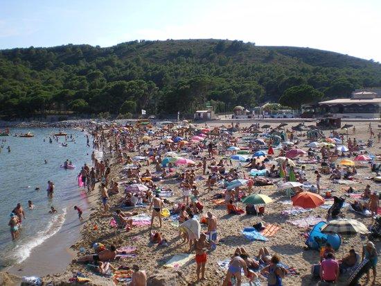 Camping Punta Milà Yelloh! Village: plage cala montgo