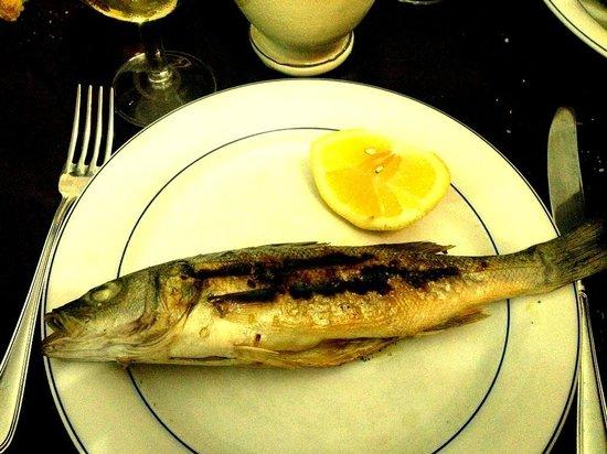 Ristorante Re Sole: Pesce fresco