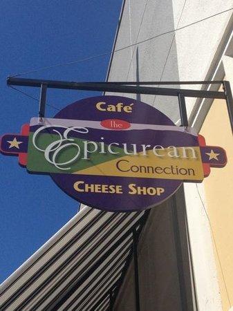 The Epicurean Connection : Shop sign