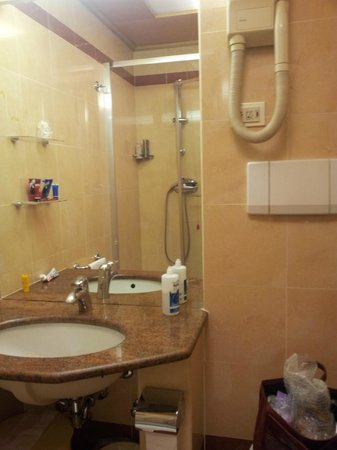 ADI Hotel Poliziano Fiera: shower room