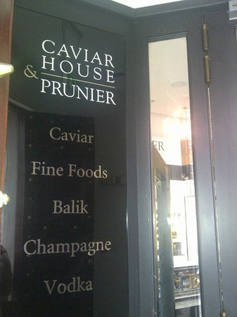 Caviar House & Prunier - St James Street: Caviar House Entrance