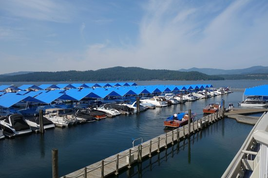 The Coeur d'Alene Resort : View from room