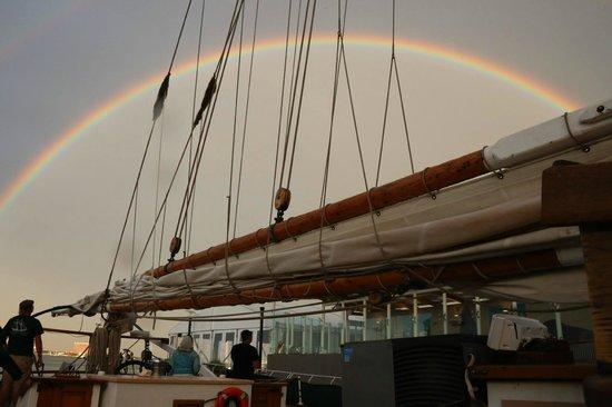 Liberty Fleet of Tall Ships: Rainbow!