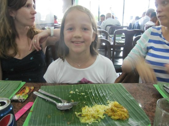 The Banana Leaf Apolo : The banana leaf.