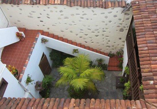 Casa Rural Los Helechos: Patio