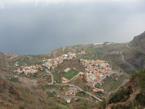 Casa Rural Los Helechos: View on Agulo
