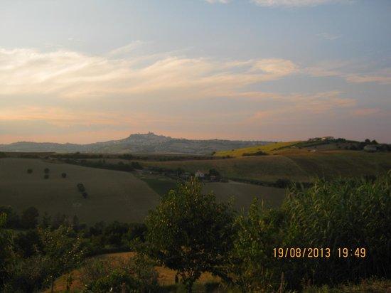 Agriturismo Ca' Nick: tramonto