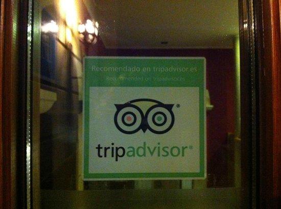 Sur de la Bahia Hotel Rural: En la puerta....