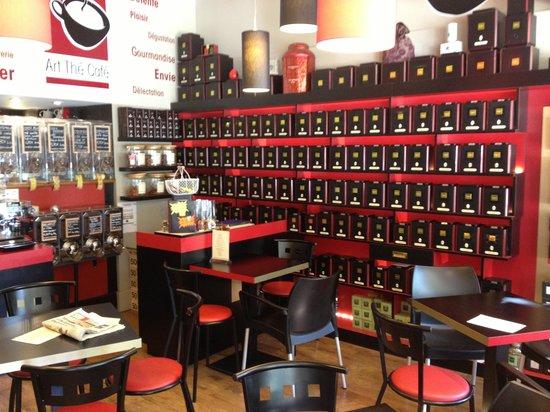 Art the cafe : L'intérieur