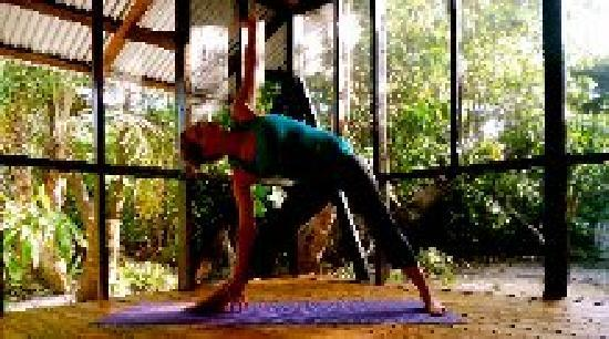 Little Corn Beach and Bungalow: Firefly Yoga and Massage