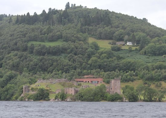 Loch Ness Centre & Exhibition : Castle Urquart from the Loch