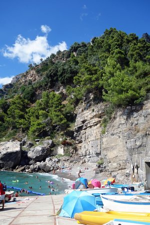 Hotel Le Sirene: Gavitella beach