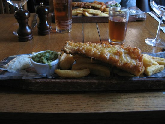 The Old Customs House: Fish & Chips