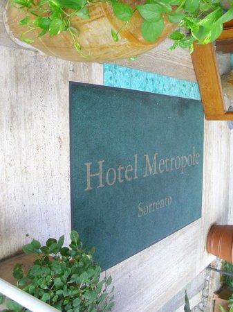 Hotel Metropole: ingresso