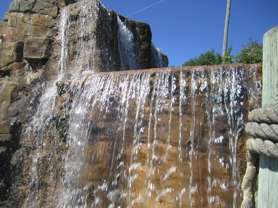 Animal Tracks : waterfall