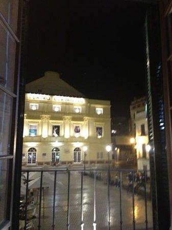 El Palco: vista desde uno de los balcones