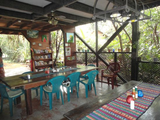 Parrot Nest Lodge: dining area