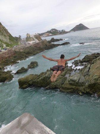 Punta de Clavadistas: The legend diver