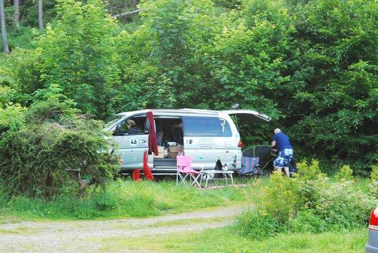 Campingplatz Senhutte: Trigger at the campsite