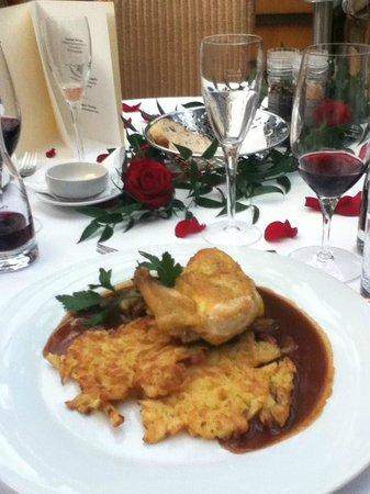 Mövenpick Restaurant Zur Historischen Mühle: Romantic dinner