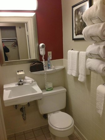 The St. Clair Hotel: Bathroom and Amenities