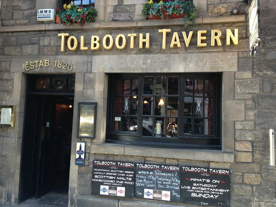 Tolbooth Tavern : Programação do final de semana