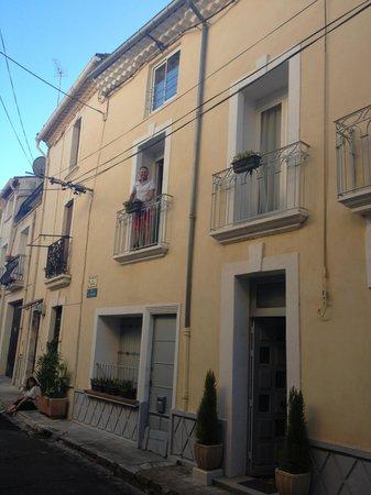 Gabian, Франция: On the balcony