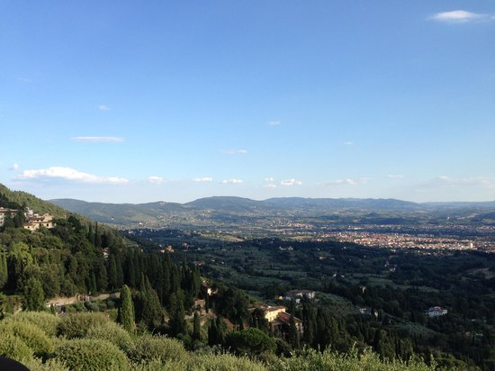 Porcigliano Bed and Breakfast: View of Florence from Fiesole town