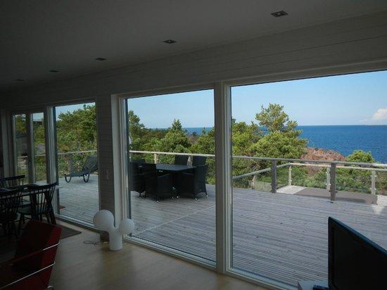 HavsVidden, BW Premier Collection : Blick auf die grosse Terrasse