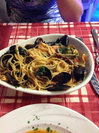Mediterraneo Beach: spaghetti allo scoglio