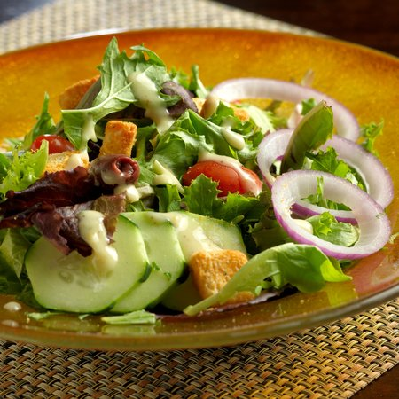 Hotel Abrego: Local Salinas Greens Salad in Bistro Abrego