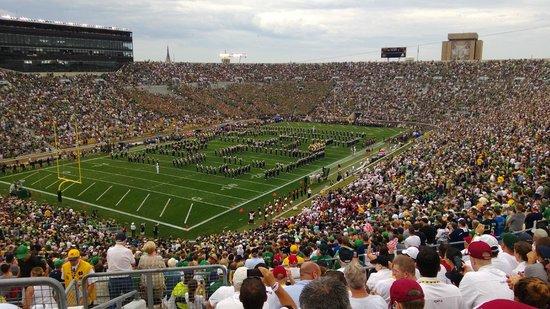 Notre Dame Stadium: 81,000