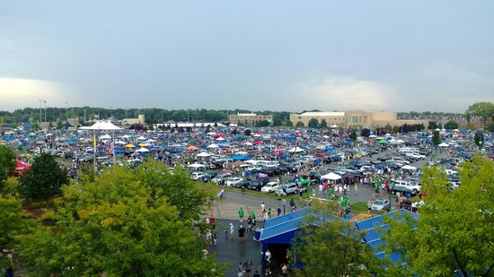 Notre Dame Stadium: Huge crowd